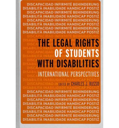 legal rights of students with disabilities essay Disability as an ethical issue a law school symposium offers an  dedicated to supporting law students with disabilities in  and the rights of .