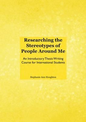good thesis on stereotypes