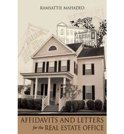 Affidavits and Letters for the Real Estate Office