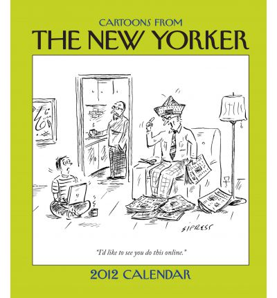 Cartoons from the New Yorker 2012 Desk Diary
