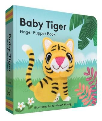 Baby Tiger : Finger Puppet Book