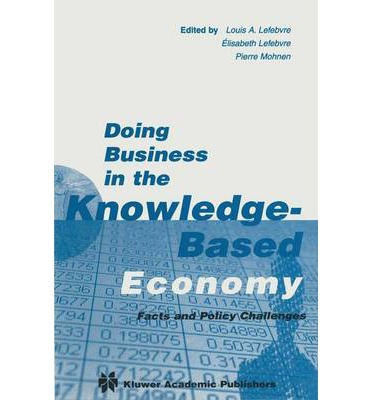 the knowledge based economy On the world bank's knowledge economic index,  most clients within the knowledge economy are based in the west and often equate african firms with.