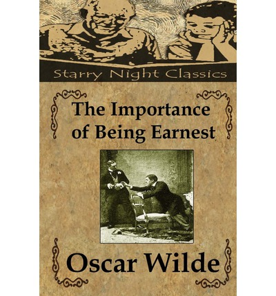 an analysis of the importance of being earnest by oscar wilde Oscar wilde's play ''the importance of being earnest'' is both humorous and lighthearted  the importance of being ernest:  the importance of being earnest by oscar wilde: summary, analysis .