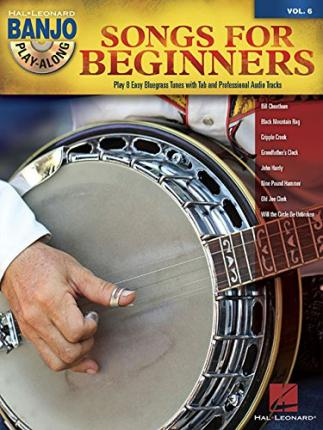 Banjo Play-Along: Volume 6 : Songs for Beginners (Book/CD)