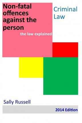 Past Exam papers and Model Answers - Offences Against the Person
