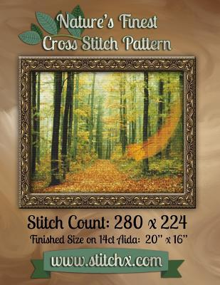 Nature's Finest Cross Stitch Pattern : Pattern Number 005
