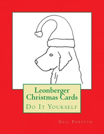 Leonberger Christmas Cards : Do It Yourself