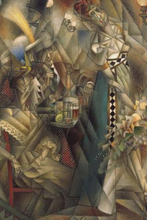 Dancer in a Cafe (Jean Metzinger) : Blank 150 Page Lined Journal for Your Thoughts, Ideas, and Inspiration