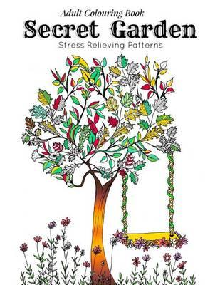 Adult Coloring Book Secret Garden Link 9781518736056
