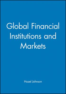 financial institutions and markets International monetary fund (imf), and the brookings institution devoted their  fourth annual financial markets and development conference, held in new york .