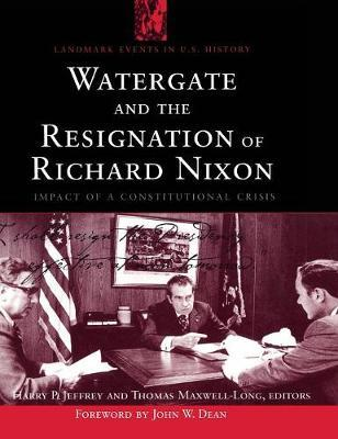 a history of the watergate political scandal and the constitutional crisis of the nixon administrati It is a misreading of the constitution for any member  the wars of watergate: the last crisis of richard nixon by  biggest political scandal in the history.