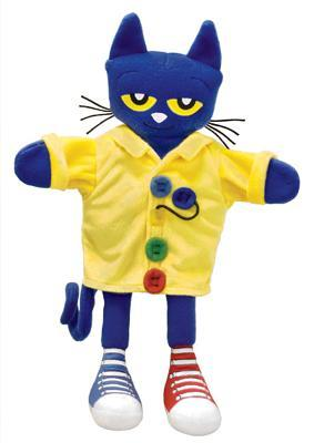 """Pete the Cat and His Four Groovy Buttons 14.5"""" Puppet"""