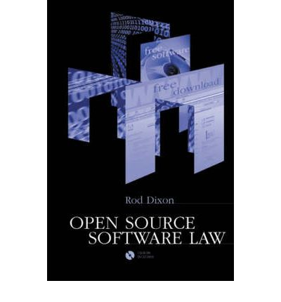 Open Source Software Law Rod Dixon 9781580537193 border=