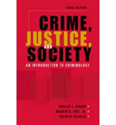 an introduction to the criminology the study of crime in society Download crime justice and society an introduction to criminology ebook in pdf and epub format read online crime justice and society an introduction self-study.