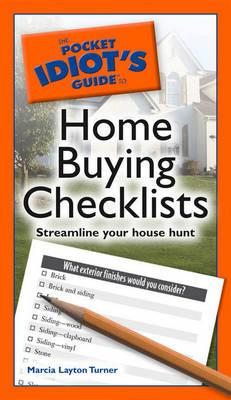 BUYING CHECKLIST HOME