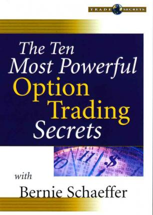 The ten most powerful option trading secrets