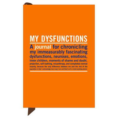 Knock Knock My Dysfunctions Mini Inner-Truth Journal