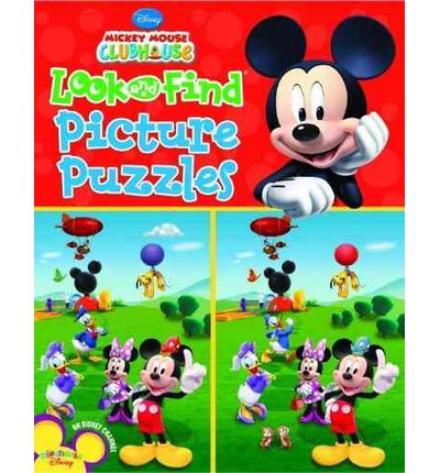 Mickey Mouse Clubhouse Look and Find Picture Puzzles Mickey Mouse