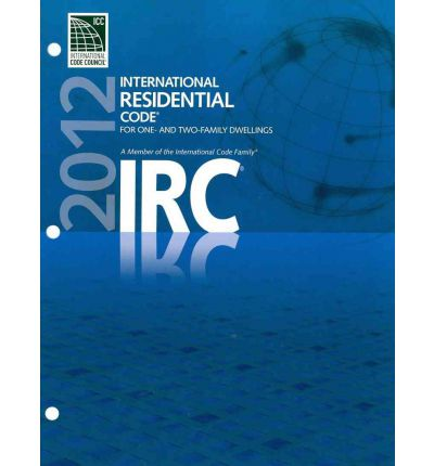 2012 international residential code for one and two
