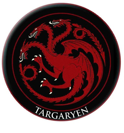 Game of Thrones Targaryen Embroidered Patch