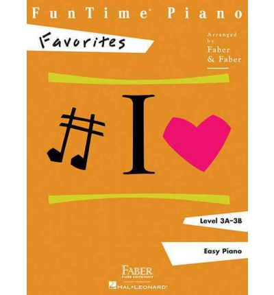FunTime Piano, Level 3A-3B, Favorites