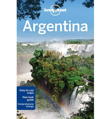 Lonely Planet Argentina Lonely Planet - Argentina map lonely planet