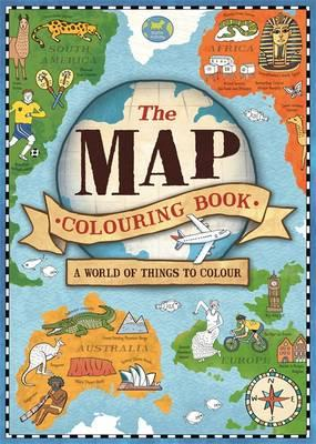 the map colouring book natalie hughes 9781780553610 - Map Coloring Book