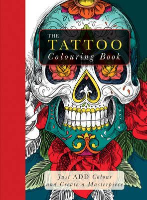 Image result for tattoo adult colouring book
