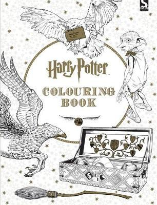 Harry Potter Colouring Book Warner Brothers 9781783705481