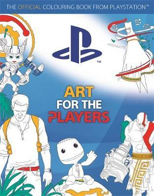 Art for the Players : The Official Colouring Book from Playstation