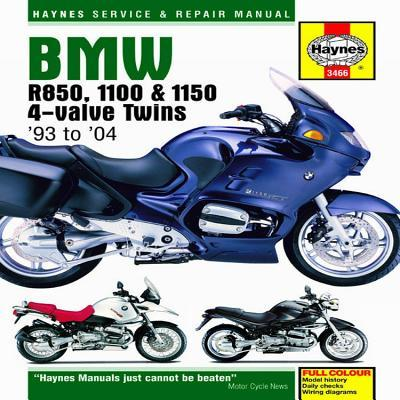 BMW R850, 1100 and 1150 4-valve Twins Service and Repair Manuals