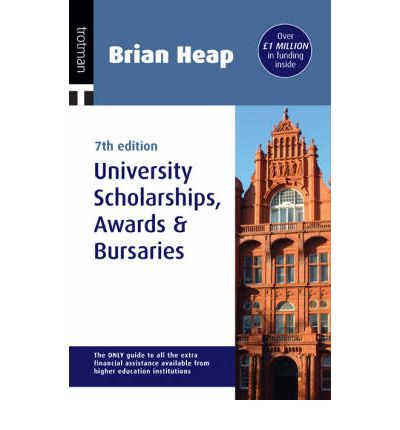 Brian Heap's University Scolarships, Awards and Bursaries