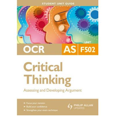 critical thinking revision unit 1 Critical thinking revision unit 1: evidence and credibility glossary argument – a set of claims, some presented as reasons, for accepting a further claim.