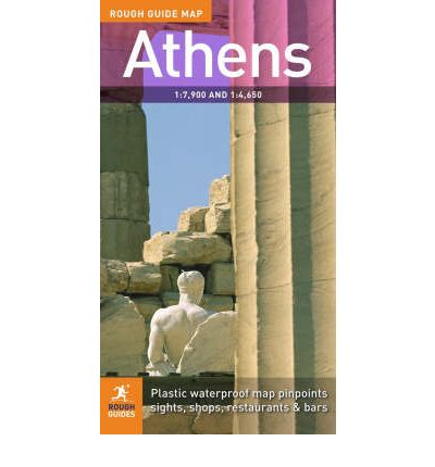 The Rough Guide Map Athens