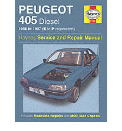 Peugeot 405 Diesel Service and Repair Manual