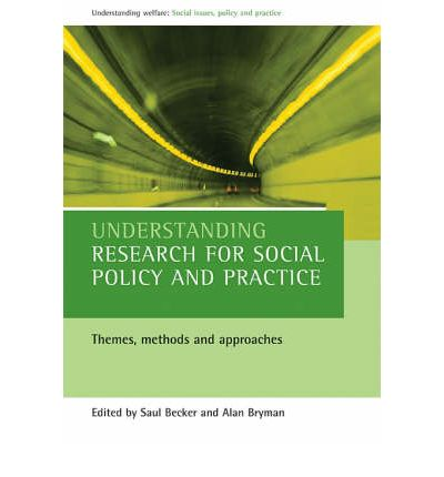 Understanding Research for Social Policy and Practice