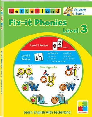 Fix-it Phonics: Studentbook 1 Level 3 : Learn English with Letterland