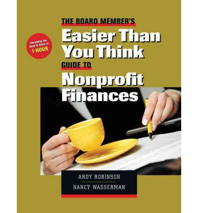 The Board Member's Easier-Than-You-Think Guide to Nonprofit Finances