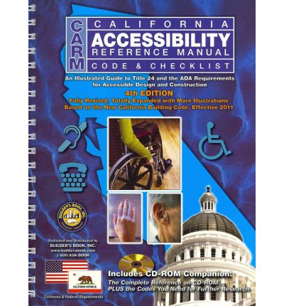 California Accessibility Reference Manual Code & Checklist