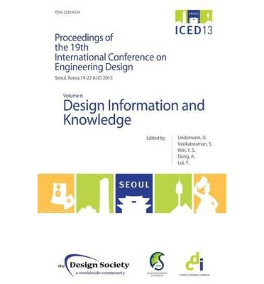 Proceedings of ICED13 Volume 6 : Design Information and Knowledge