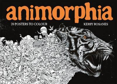 animorphia 20 posters to colour kerby rosanes 9781910552568 - Posters To Color