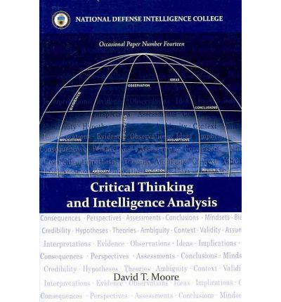 Ndic critical thinking and intelligence analysis