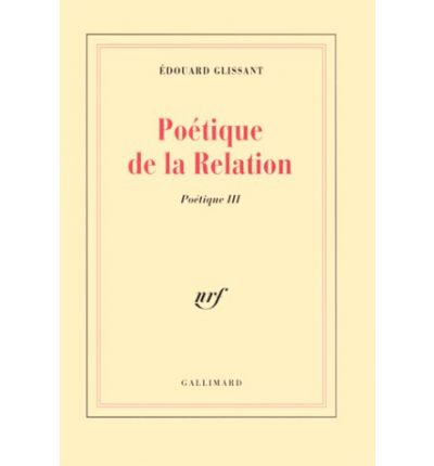 poetics of relation by edouard glissant