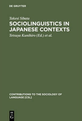 sociolinguistics sociology and language 10 critical sociolinguistics: approaches to language and power 101 introduction to date, there is no comprehensive theory of sociolinguistics that attempts.