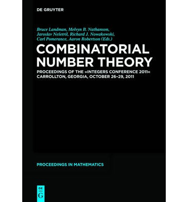 Combinatorial Number Theory : Proceedings of the