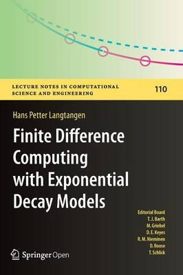 Finite Difference Computing with Exponential Decay Models 2016