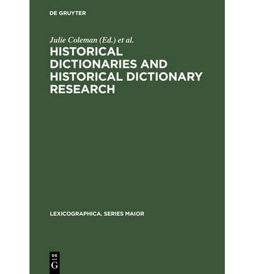 essay on lexicography