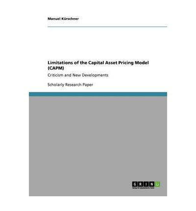 capital asset pricing model research paper