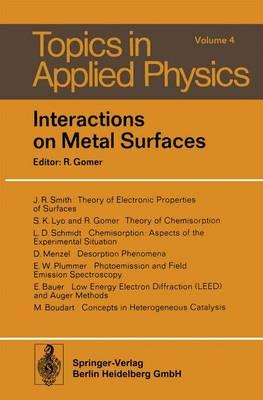 Interactions on Metal Surfaces