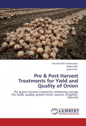 onion pre harvest Jaren urbina post harvesting onion basic storage & handling tips for dry bulb onions: always handle onions with care do not drop onions as this often causes.